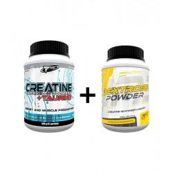 TREC NUTRITION CREATINE Micro +TAURINE +DEKSTROSE GRATIS (400g)
