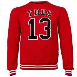 TREC WEAR MEN'S - TREC 13 - SWEATSHIRT 009/RED