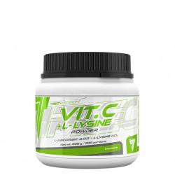 TREC NUTRITION - VIT. C + L- LYSINE POWDER - 300 G
