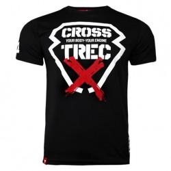 TREC WEAR MEN'S - COOLTREC 012 CROSS - T-SHIRT/BLACK