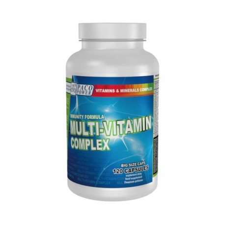 PACO POWER Multi-Vitamin Complex 60 kapsułek