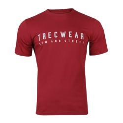 Trec Wear TSHIRT 043 BASIC TRECWEAR MAROON