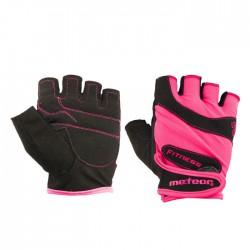 Meteor Rękawiczki Fitness Gloves Grip Lady różowe