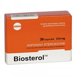 MEGABOL Biosterol - 36 kapsułek