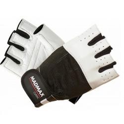 MAD MAX Rękawiczki - CLASIC MFG-248 (białe)