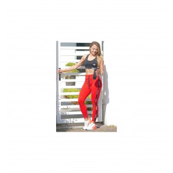 TREC WEAR LEGGINGS TRECGIRL 25 COTTON RED