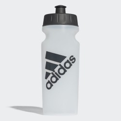 ADIDAS BIDON PERFORMANCE  0,5 biały, czarne logo