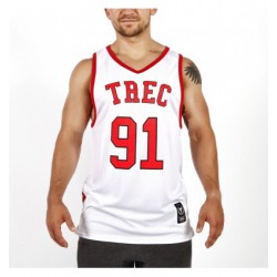 Trec Wear JERSEY 008 WHITE w/RED