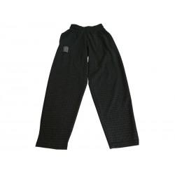 Mordex Spodnie długie kratka szara ciemna