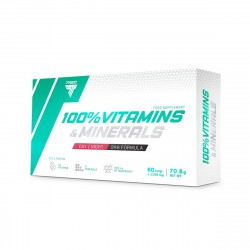 TREC 100% VITAMINS & MINERALS DAY/NIGHT 60kap