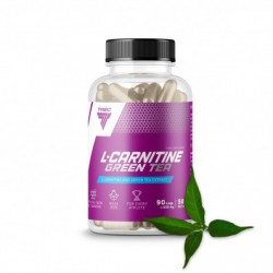 TREC NUTRITION L-CARNITINE + GREEN TEA 180 caps.